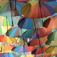 2019 romania bucharest umbrellas